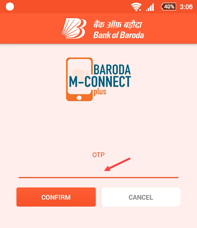 m connect plus mobile banking activation registration