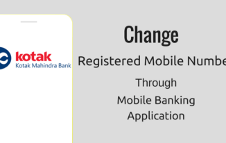 Kotak Mobile Banking Par Change Kare Registered Mobile Number