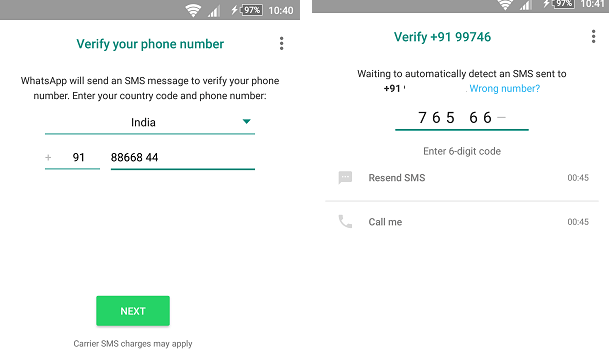 two whatsapp single phone android
