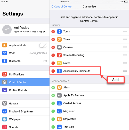 restart iphone ipad without pressing power button