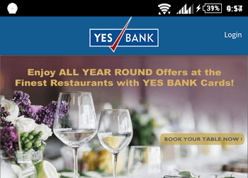 yes bank mobile registration